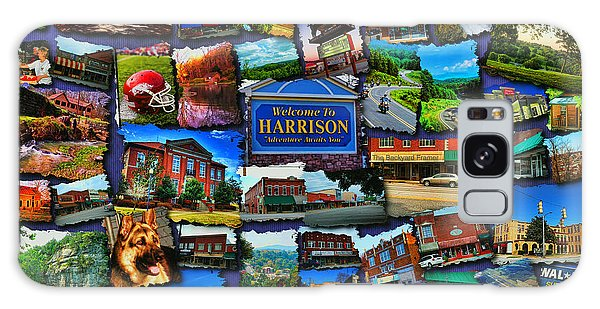 Welcome To Harrison Arkansas Galaxy Case