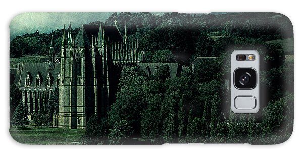 Galaxy Case featuring the photograph Welcome To Wizardry School by Chris Lord