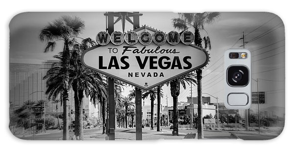Welcome To Las Vegas Series Holga Black And White Galaxy Case