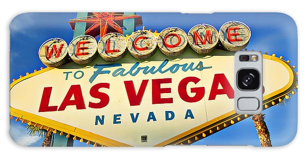 Travel Galaxy Case - Welcome To Las Vegas Sign by Garry Gay