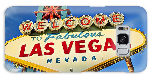 Welcome To Las Vegas Sign Galaxy Case