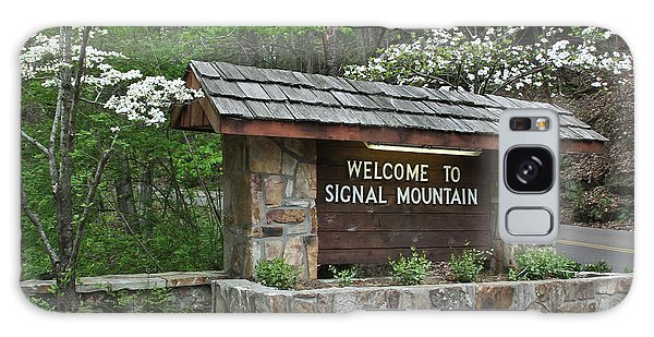 Welcome To Signal Mountain Spring Galaxy Case