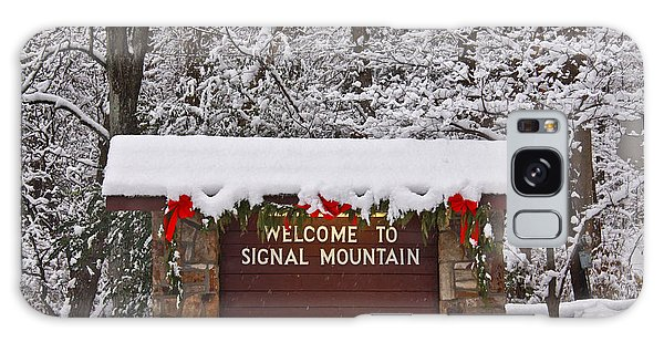 Welcome To Signal Mountain Galaxy Case