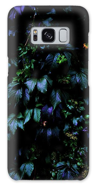 Green Leaf Galaxy Case - Welcome To The Jungle by Nicklas Gustafsson