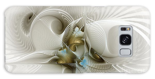 Welcome To The Second Floor-fractal Art Galaxy Case by Karin Kuhlmann