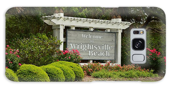 Welcome To Wrightsville Beach Nc Galaxy Case