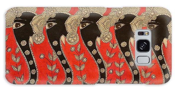 Madhubani Galaxy Case - Welcoming Elephant by Shilpa Adavatkar
