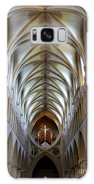 Wells Cathedral Ceiling  Galaxy Case by Lexa Harpell