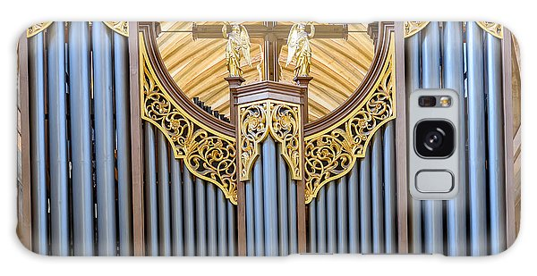 Wells Cathedral Organ Galaxy Case by Colin Rayner