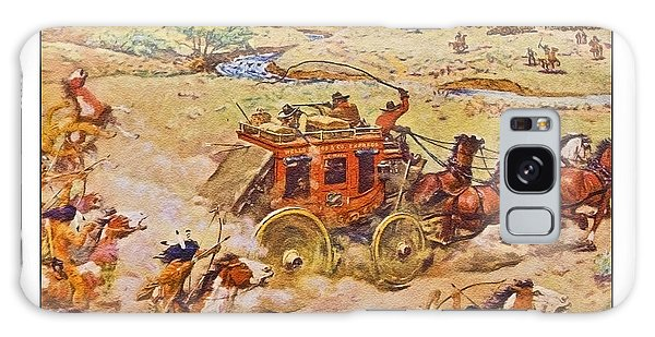 Wells Fargo Express Old Western Galaxy Case