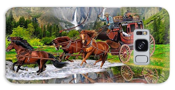 Wells Fargo Stagecoach Galaxy Case