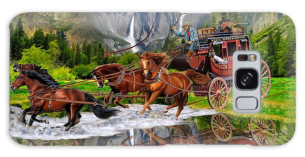 Wells Fargo Stagecoach Galaxy Case