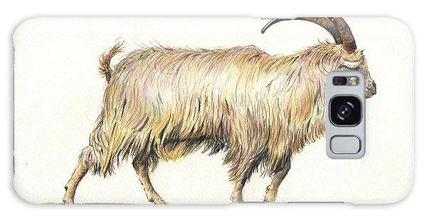 Welsh Long Hair Mountain Goat Galaxy Case