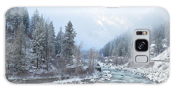 Wenatchee River Galaxy Case