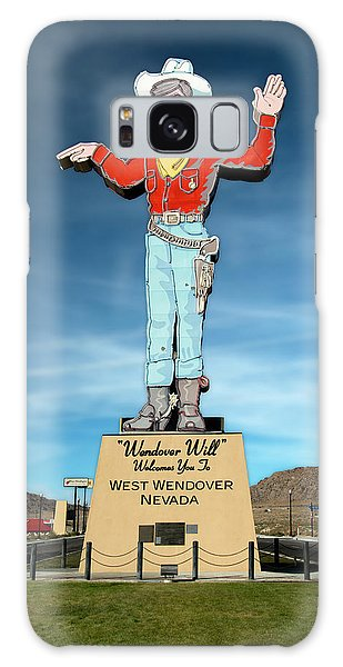 Wendover Will Galaxy Case by Gary Warnimont