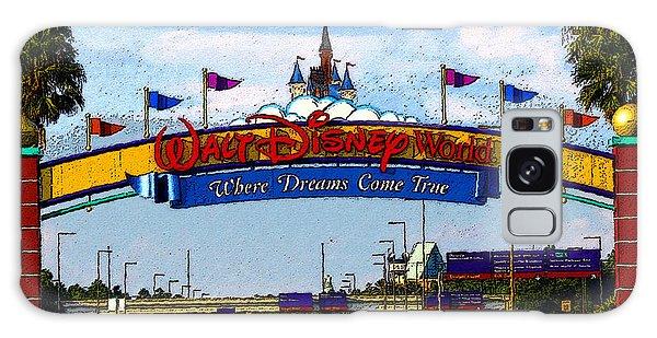 Walt Disney Galaxy Case - Were Dreams Come True by David Lee Thompson