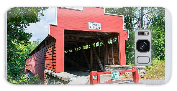 Wertz Covered Bridge Galaxy Case