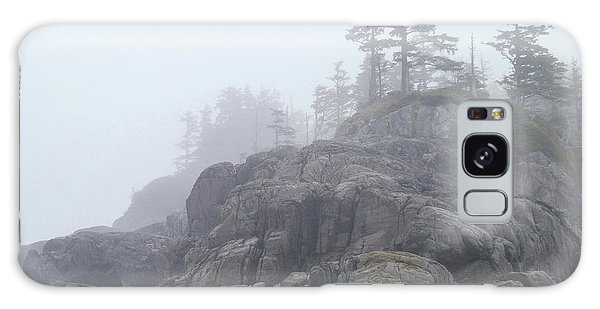 West Coast Landscape Ocean Fog I Galaxy Case