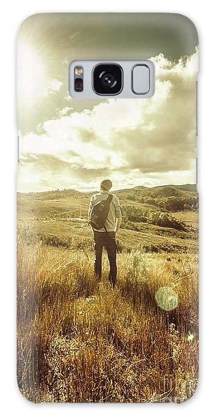 Bright Sun Galaxy Case - West Coast Tasmania Explorer by Jorgo Photography - Wall Art Gallery
