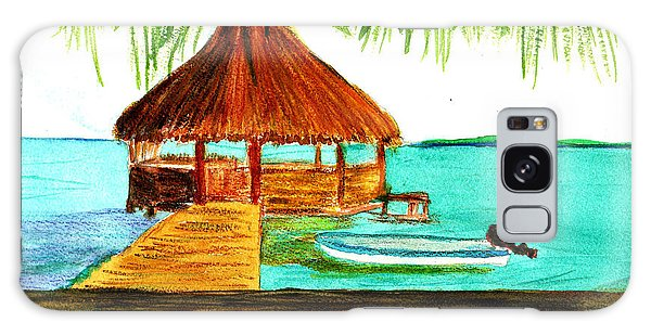 West End Roatan Galaxy Case by Donna Walsh