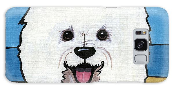 West Highland Terrier Galaxy Case by Leanne Wilkes