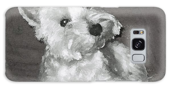 West Highland White Terrier Galaxy Case by Charmaine Zoe