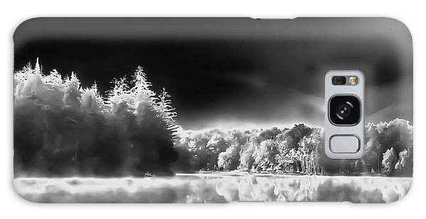 Galaxy Case featuring the photograph West Lake Backlit by David Patterson