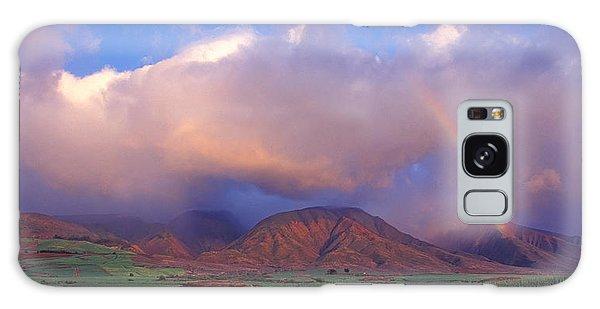 West Maui Rainbow Galaxy Case