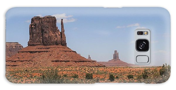 West Mitten Butte Monument Valley Galaxy Case