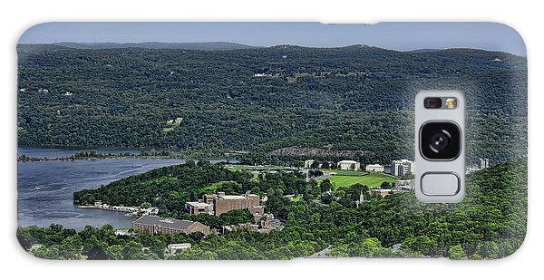 West Point From Storm King Overlook Galaxy Case