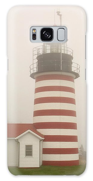 West Quody Head Lighthouse Galaxy Case
