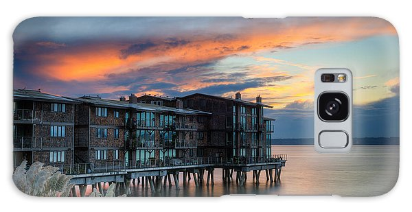 Galaxy Case featuring the photograph West Seattle Living by Dan Mihai