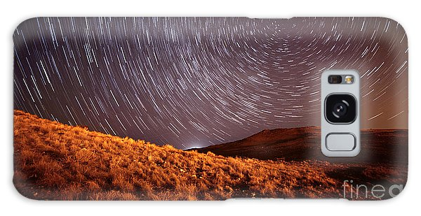 Galaxy Case featuring the photograph West Side Volcano by Brian Spencer