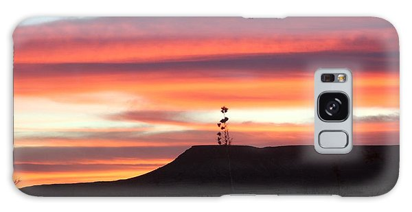 Mile Marker 122 West Texas Sunrise Galaxy Case