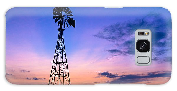 West Texas Windmill Galaxy Case