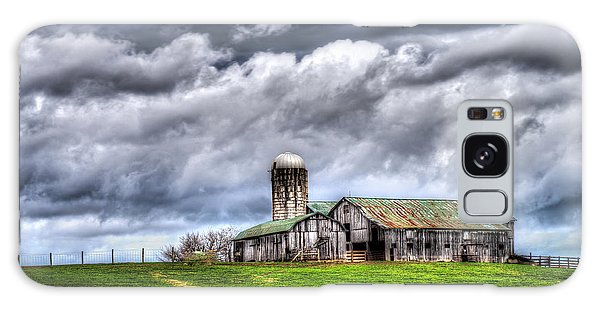 West Virginia Barn Galaxy Case