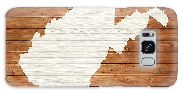 Traveler Galaxy Case - West Virginia Rustic Map On Wood by Dan Sproul