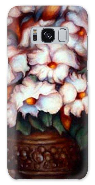 Western Flowers Galaxy Case
