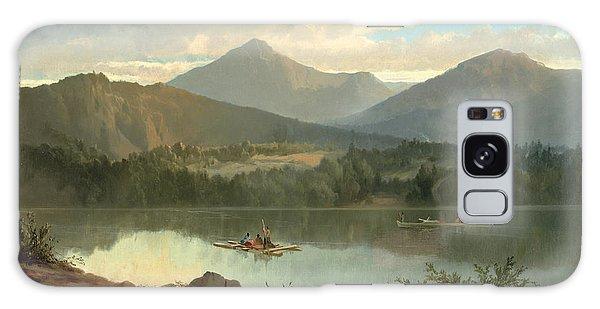 Hills Galaxy Case - Western Landscape by John Mix Stanley