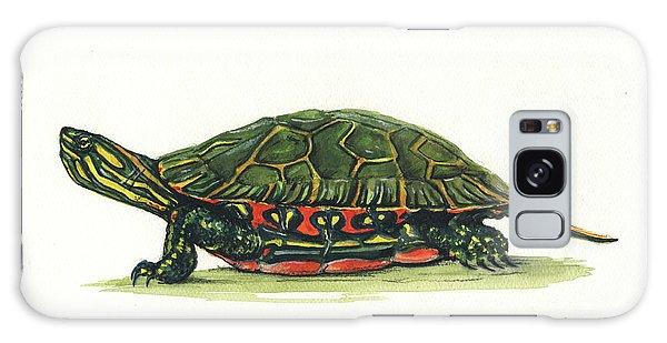 Western Galaxy Case - Western Painted Tortoise by Juan Bosco