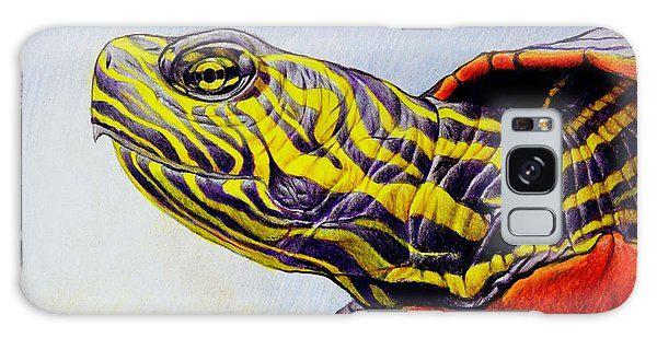 Western Painted Turtle Galaxy Case