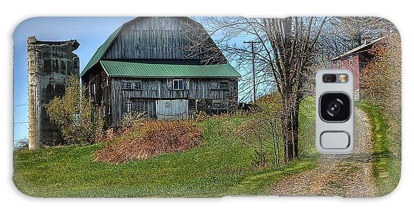 Western Pennsylvania Country Barn Galaxy Case