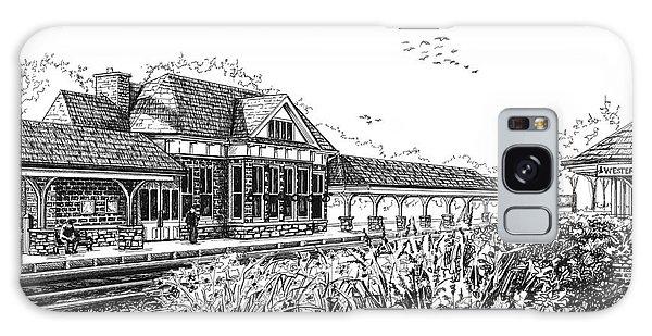 Western Springs Train Station Galaxy Case