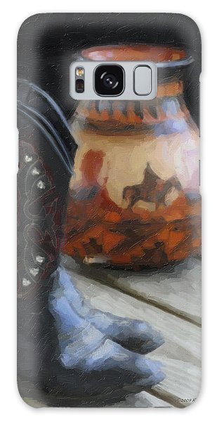 Western Still Life Galaxy Case by Kenny Francis