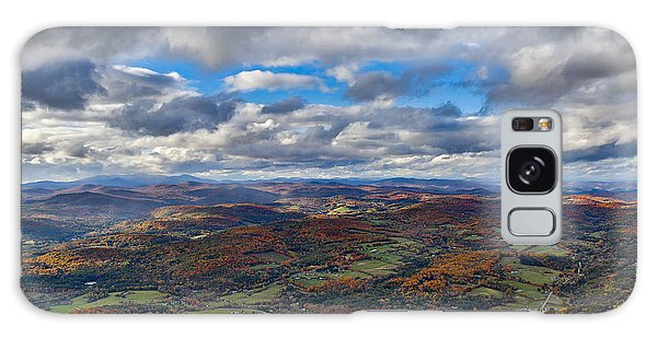 Western View From Mt Ascutney Galaxy Case