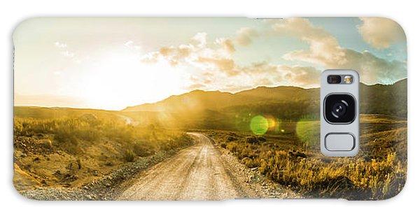 Countryside Galaxy Case - Western Way by Jorgo Photography - Wall Art Gallery