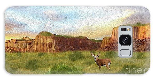 Western Whitetail Deer Galaxy Case