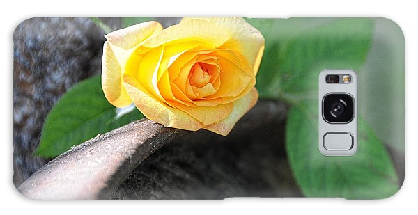 Western Yellow Rose Vi Galaxy Case