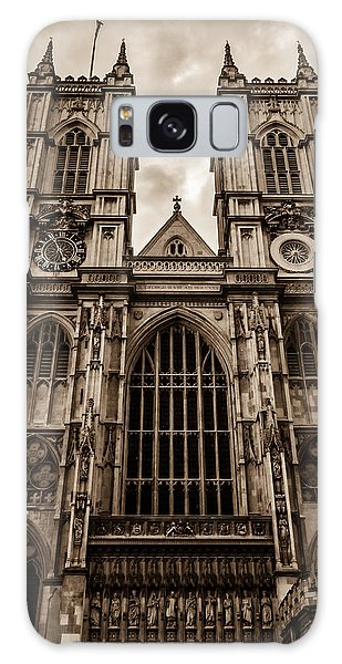 Westminister Abbey Sepia Galaxy Case