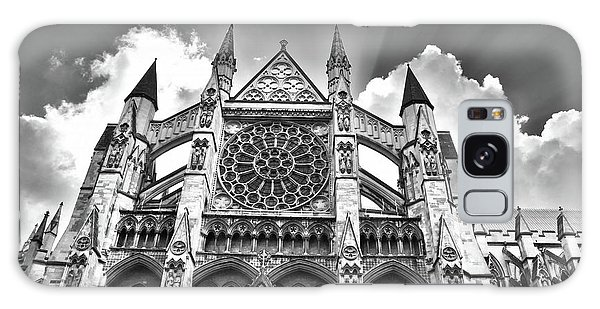 Westminster Abbey Under The Clouds And Rays Galaxy Case
